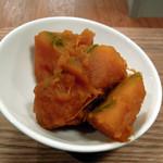 木月キッチン - おばんざいセットのかぼちゃの煮物