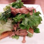 木月キッチン - おばんざいセットのサラダ