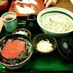 16598542 - いくら丼定食(そば大)