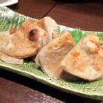 びんてじ - 黒はんぺん生姜醤油焼き(578円)
