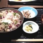 原始焼 六番町 魚鷹 - ほっけの温玉ほぐし丼