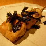 炭火串焼専門店 鶏天 - ☆ささみ山葵…海苔がたっぷり過ぎます(笑)☆