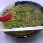 信濃そば - カレーうどん(750円)