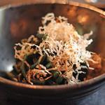 唐橋茶屋 - 山菜のおひたし