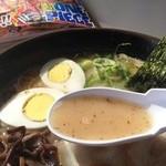 とろく黒亭 - 豚骨スープ