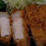 とんかつ 櫻家 - 極上ロースとんかつ定食