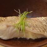 太平寿し - 能登黒の蒸し寿司