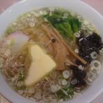 16605309 - ラーメン(600円)+バター(50円)