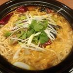 百菜百味 - 【ランチ初回訪問】  牛バラマーラー麺、、、うまい・・・・笑