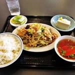 16605720 - 肉入野菜炒めライス