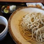 蕎麦工房 まつ田 - 【初訪問12年12月】せいろ。