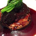 ヨシズハイ - 和牛頬肉の赤ワイン煮、自然薯のステーキとともに