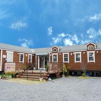 向日葵 - 長野県で製造した純国産のトレーラーハウスです。軽井沢で別荘などにも使用されています。