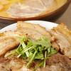 麺屋 開高 - 料理写真:らー麺とホエー豚丼のセット