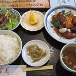 16609334 - 酢豚定食 ¥735