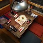 16609632 - 2階の端っこのテーブル