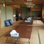 吉川鮮魚店 - お部屋の中は民宿風の和室です。
