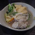 山田食堂 - 柚子胡椒もよく合います