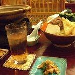 竹とんぼ - 魔法のスープ3,000円コースの一部