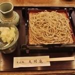 大村庵 - 2012年大晦日「年越しそば」