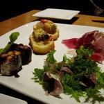 リフージョ - 前菜の盛り合わせ