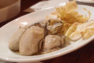 ロッツォシチリア - 牡蠣のオイル漬け