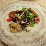 ケイズキッチン - 前菜です(3500円コース)