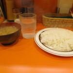 キッチンABC 池袋東口店 - 普通盛りご飯