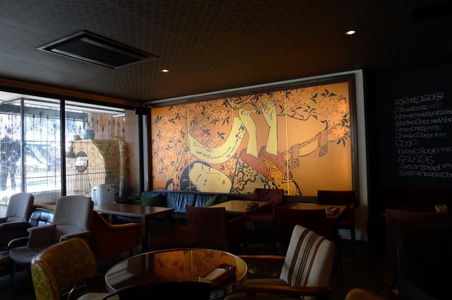 桜丘カフェ - 浮世絵も