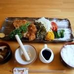 季節料理 わかめ - 国産豚ロースカツ御膳 1480円