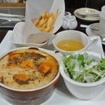 日の出 - 【2013.1.1追加写真】元旦朝食メニュー:ミートドリア