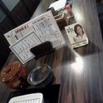 夢屋 - テーブルセット
