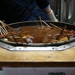 佐喜 - どてを煮てる鍋です