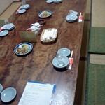 丸幸 - テーブル