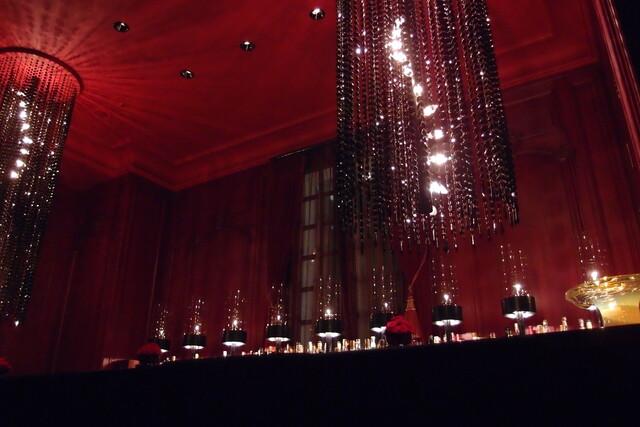 ガストロノミー ジョエル・ロブション - Dec, 2012 Rouge Bar にてwaiting