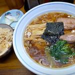 16621633 - ラーメン(650円)+定食(50円)