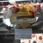 リバージュ - 次回はこれをリバージュケーキ950円