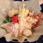 16623099 - 伊勢海老のすき鍋!                       お正月らしくていい感じ!心も温まるね!                       和む!
