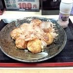 冨貴 - 料理写真:塩たこ焼き  8個 430円