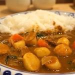 ケンズカリー - 季節の野菜カレー(850円)