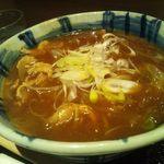 Sojibou - カレー南蛮そば700円