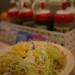 16629354 - あ、定食付け合せのサラダね(_´Д`) アイーン