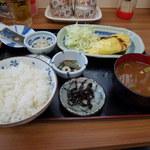 こめっこ - オムレツ定食630円