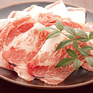 【歓送迎会限定パック】国産牛すき焼きコース椿~TUBAKI~