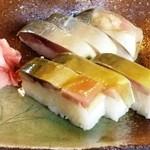 16630288 - 極上鯖寿司(半分)
