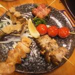 どん呑 - 料理写真:盛合せ6点焼き