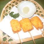 どん呑 - 嶽のキミ串揚げ
