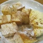 紫陽花 - メープルシロップトースト