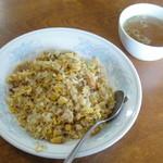 みつわ食堂 - チャーハン、スープ