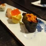 16634966 - 握り10貫+旬の巻寿司